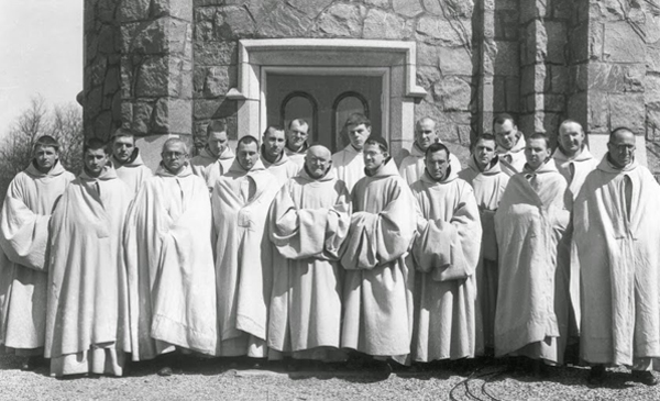 F44.jpg Our Lady of the Valley. Novices and junior professed, April 1937